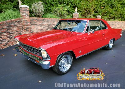 1967 Nova SS in red for sale