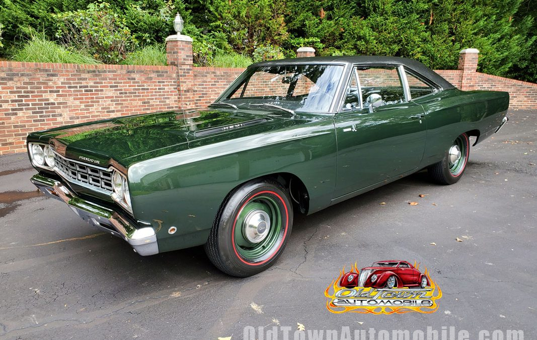 1968 Plymouth Roadrunner in Forest Green, Numbers matching