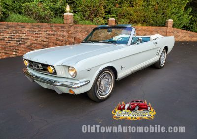 1966 Ford Mustang Convertible for sale in Light Blue