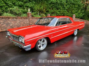 1964 Chevrolet Impala in Red with Recent Restoration for sale at Old Town Automobile