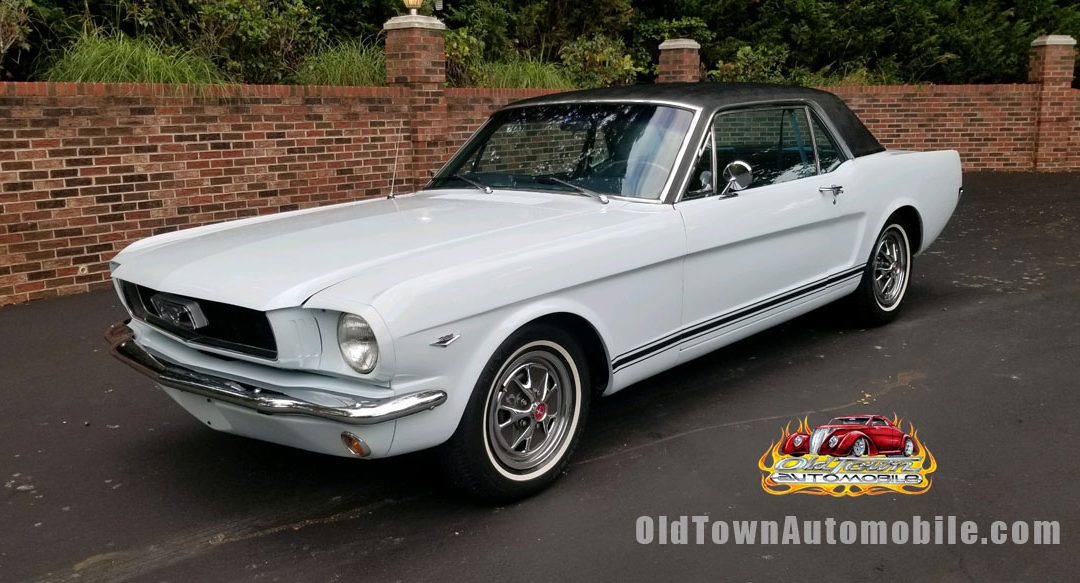 1966 Ford Mustang Coupe in Light Blue