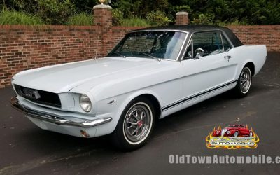 1966 Mustang Coupe in Light Blue
